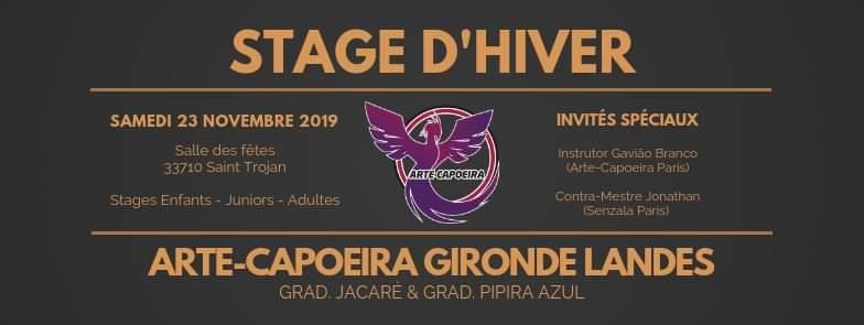 4ème stage d'hiver Arte-Capoeira Gironde Landes