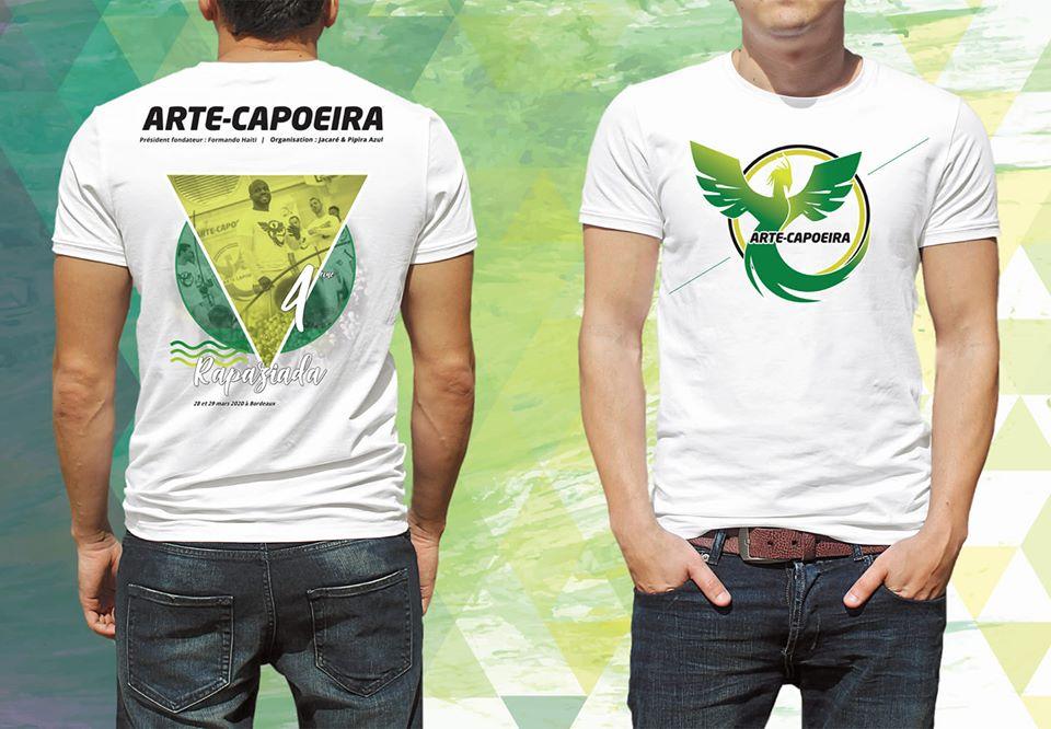 T-shirt 4ème Rapaziada Capoeira Gironde Landes