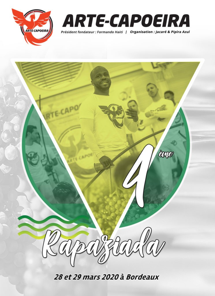 4ème Rapaziada Arte Capoeira Bordeaux 2020